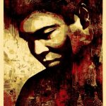Ali Canvas - Shepard Fairey