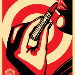 Kiss Me Deadly Red - Shepard Fairey