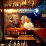 Last Supper (at Jack Londons bar) by Andrew Jackson